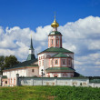 Russian orthodox church. Iversky monastery in Valdai, Russia. — Zdjęcie stockowe