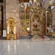 Interior of russian orthodox church — Photo