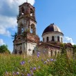 Old deserted church in Novgorod region, Russia — стоковое фото #8963781
