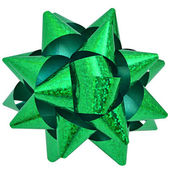 Green star — Foto de Stock