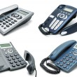 Stock Photo: Digital phones