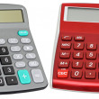 Calculators with an autonomous power — Stock Photo