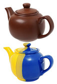 Ceramic teapots — Stock Photo