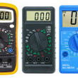 Stock Photo: Multimeters