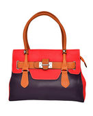 Red Women's bag — Stock Photo