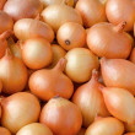 Heap of onions — Stock Photo