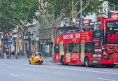 На улицах Барселоны. Испания — Стоковое фото