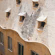Detail of the house of Casa Mila (La Pedrera), Barcelona, Spain - Stock fotografie