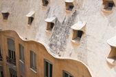 Detail of the house of Casa Mila (La Pedrera), Barcelona, Spain — Stock Photo