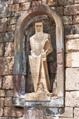 Saint George by Picasso, Montserrat Monastery, Spain — Stock Photo