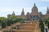 Nationales museum von katalonien, spanien. barcelona — Stockfoto
