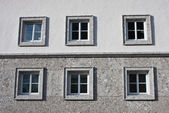 The windows of a residential building — Stock Photo