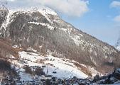Skigebiet insgesamt. österreich — Stockfoto