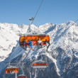 Chair ski lift. Solden. Austria — Stock Photo #8024944