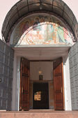 De ingang van de tempel — Stockfoto