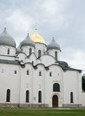 Saint Sophia cathedral in Kremlin of Great Novgorod Russia — 图库照片