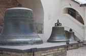 大诺夫哥罗德,克里姆林宫,采取从旧钟楼的钟声 — 图库照片