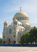 Navale kronstadt Cattedrale, di San Nicola. Russ — Foto Stock