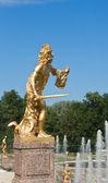 Peterhof, Grand Cascade, Perseus — Stock Photo