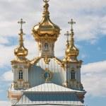 Church of the Grand Palace. Peterhof. Russia — Stock Photo