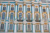 Detail of Catherine Palace, located in the town of Tsarskoye Sel — Foto de Stock
