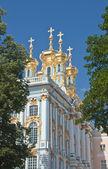 Catherine Palace in czar village of St Petersburg, Russia — Stock Photo
