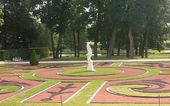 View of Catherine Park , Tsarskoye Selo, Russia. — Stock Photo