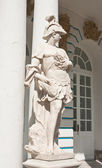 The statue in the ensemble of the Catherine Palace. St. Petersbu — Stock Photo