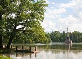 Chesme Column in Tsarskoye Selo. St.-Petersburg. Russia. — Stock Photo