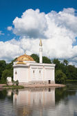 "Pavilion ""Turkish bath"". Tsarskoye Selo (Pushkin), St. Petersbur — Foto de Stock"