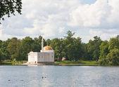 "Pavilion ""Turkish bath"". Tsarskoye Selo (Pushkin), St. Petersbur — Stock Photo"