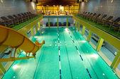 Aquatic center — Stock Photo