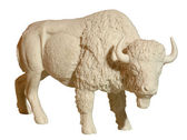 Marble statue of a bull — Stock Photo