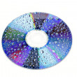 DVD disc — Stock Photo