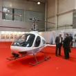 Royalty-Free Stock Photo: International Exhibition of Helicopter Industryon