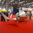 International Exhibition of Helicopter Industryon — Stock Photo