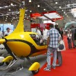 International Exhibition of helicopters — Stock Photo
