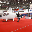 International Exhibition of helicopters — Stok fotoğraf