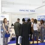 International Exhibition MosBuild-2011 — Stock Photo