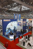 International Exhibition MosBuild-2011 — Stock Photo