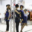 International exhibition of women's clothing — Photo