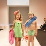 Children's Fashion Show 2012 — Stock Photo