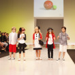 Stock Photo: Children's Fashion Show 2012