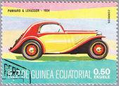 Panhard & Levassor 1934 release — Stock Photo