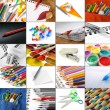 Stock Photo: Stationery collection