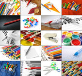 Stationery collection — Stock Photo
