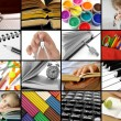 Educational collection — Stock Photo