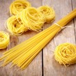 Stock Photo: Various spaghetti