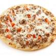 Fresh tasty pizza — Stock Photo