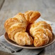 Fresh baked croissants — Stock Photo #9504740
